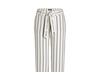 Spodnie cambio dopasowane do kobiecej sylwetki