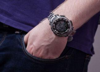 sportowy zegarek męski na rękę